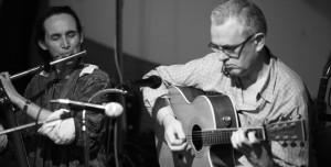 Áine Heslin flute with Matt Heslin accompanying on guitar.