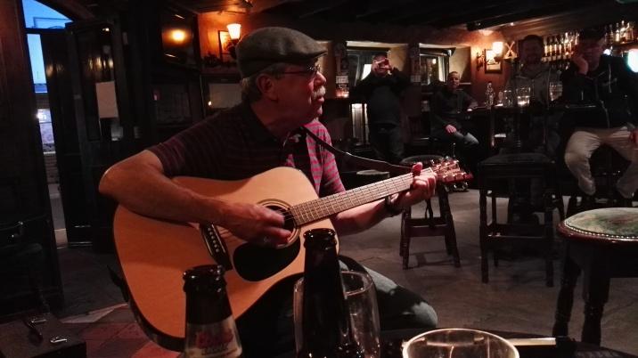 Visiting from the U.S. - sang a Bob Seger song beautifully!