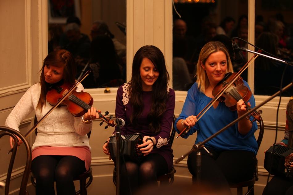 Niamh Casey, Mairéad Considine and Orla Coughlan.