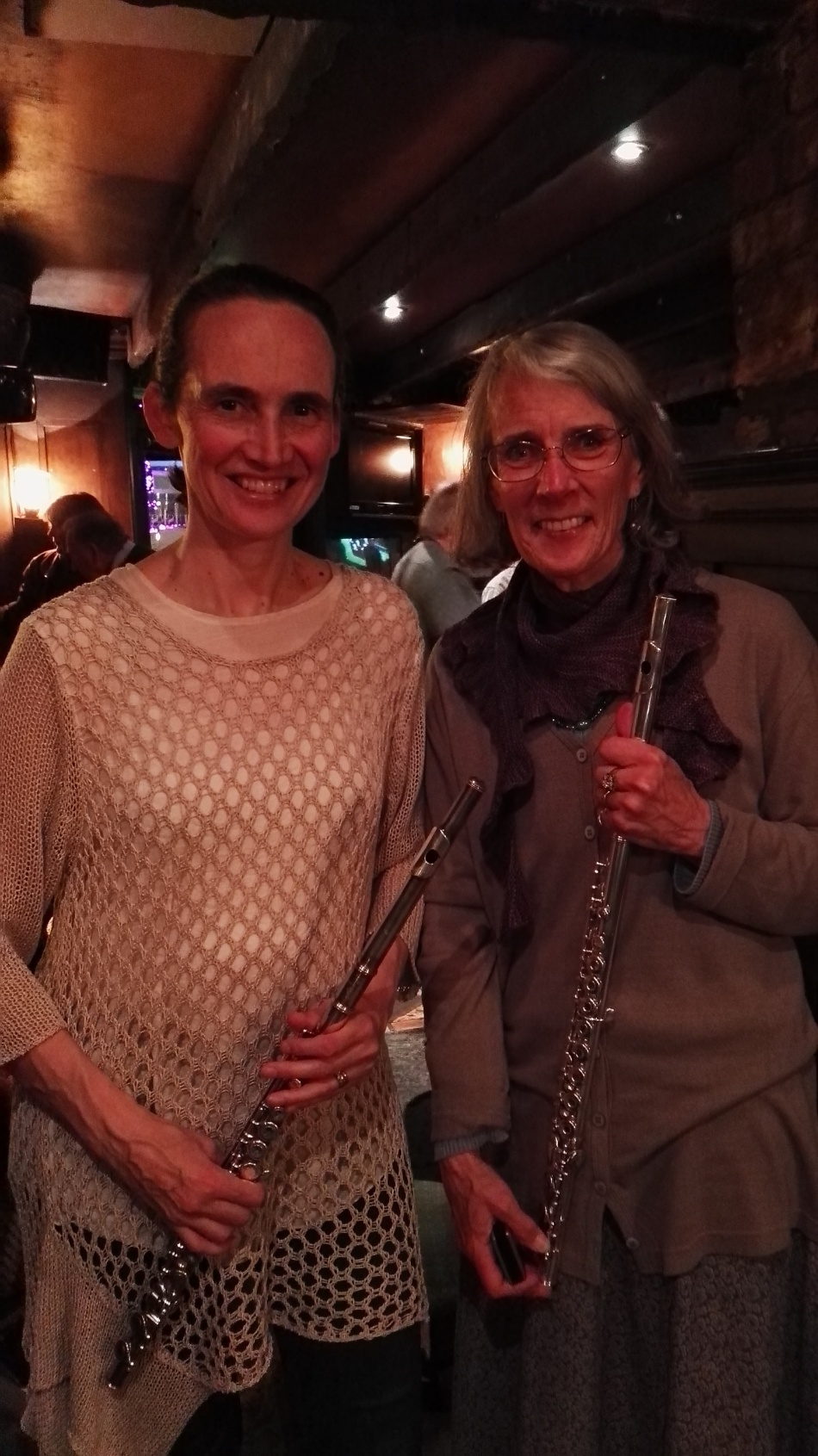 Áine Heslin and Leslie Glassmire