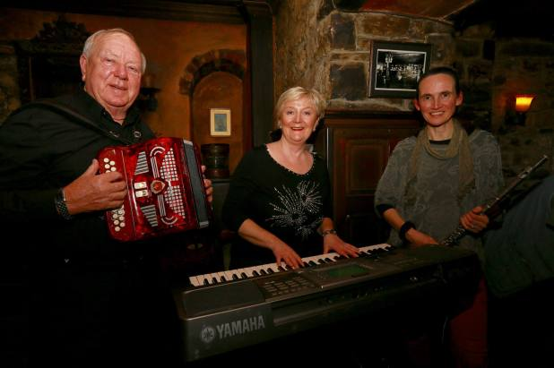 Jimmy Clancy, Pauline O'Brien and Áine by Patrick Keating