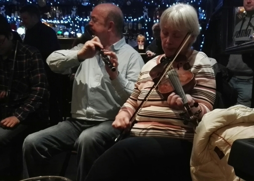 Mick and Paula.