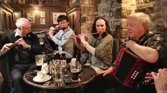 Colm, Satoshi, myself and Jimmy.