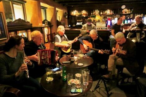 Áine, Jimmy, Andy, Matt and Frank. Photo by Pat Keating.