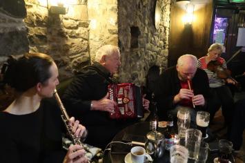 Áine, Jimmy, Brian and Paula. Photo taken by Andy Lambert.